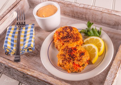 Maine Lobster Cakes (2 Cakes)